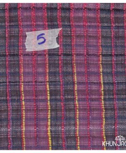 HAND WOVEN FABRIC NATURAL DYES 006